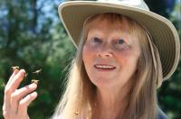 Jacqueline Freeman with her bees
